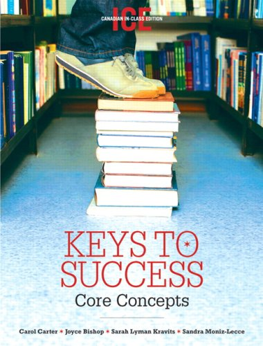 KEYS TO SUCCESS,CORE CONC.>CAN 1st 9780131492776 Front Cover