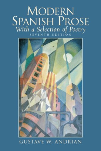 Modern Spanish Prose With a Selection of Poetry 7th 2007 edition cover