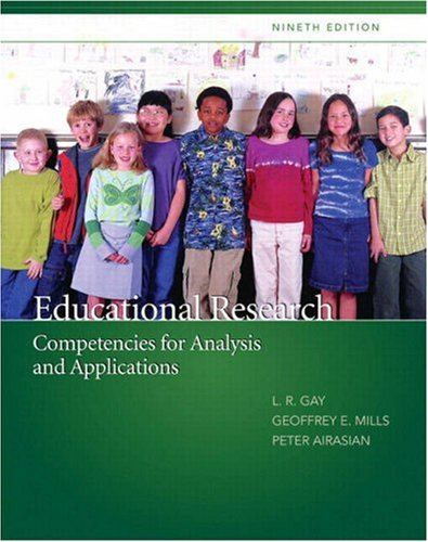 Educational Research Competencies for Analysis and Applications 9th 2009 edition cover