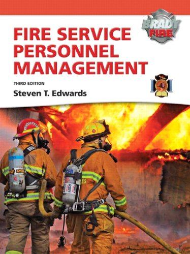 Fire Service Personnel Management with MyFireKit  3rd 2010 edition cover