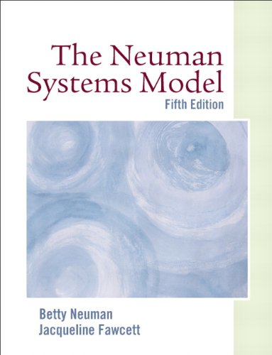 Neuman Systems Model  5th 2011 edition cover