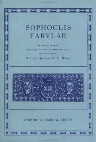 Sophocles Fabulae  2nd 1990 (Revised) edition cover