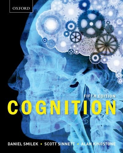 Cognition  5th edition cover