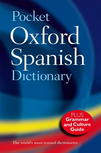 Pocket Oxford Spanish Dictionary  4th 2009 edition cover