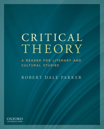 Critical Theory A Reader for Literary and Cultural Studies  2012 edition cover
