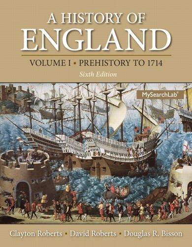 A History of England: Prehistory to 1714  2013 edition cover