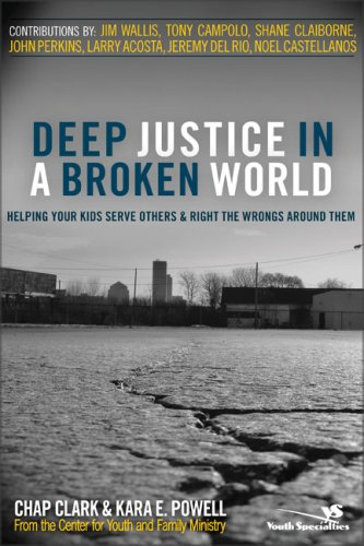 Deep Justice in a Broken World Helping Your Kids Serve Others and Right the Wrongs Around Them  2008 edition cover