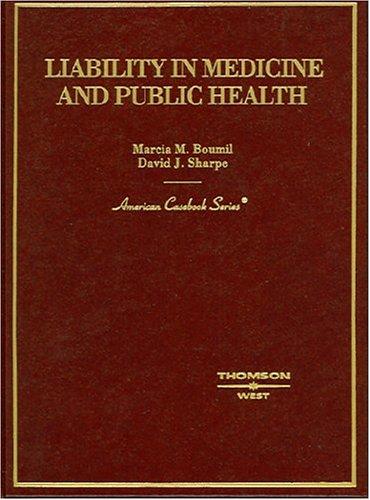 Liability in Medicine and Public H   2004 edition cover