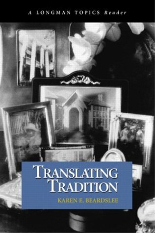 Translating Tradition   2004 edition cover