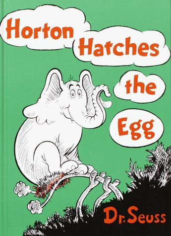 Horton Hatches the Egg   1968 edition cover