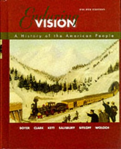 Enduring Vision A History of the American People 4th 2000 edition cover