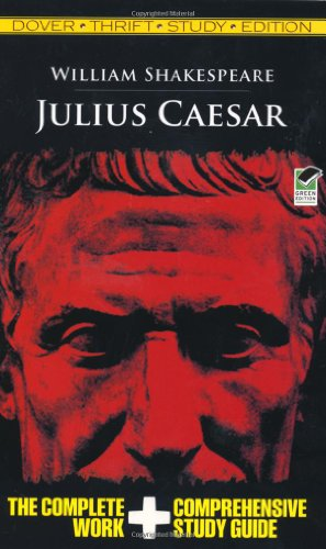 Julius Caesar Thrift Study Edition   2009 edition cover