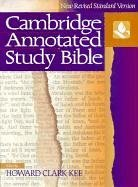Nrsv Cambridge Annotated Study Bible   1993 (Annotated) edition cover