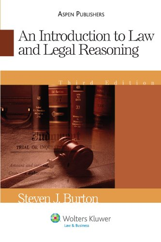 Introduction to Law and Legal Reasoning  3rd 2007 (Student Manual, Study Guide, etc.) edition cover