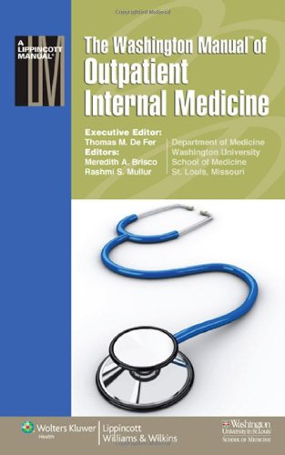 Outpatient Internal Medicine   2010 edition cover