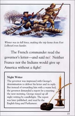 George Washington Soldier, Hero, President  2001 edition cover