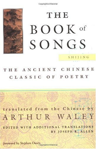 Book of Songs The Ancient Chinese Classic of Poetry Revised  edition cover