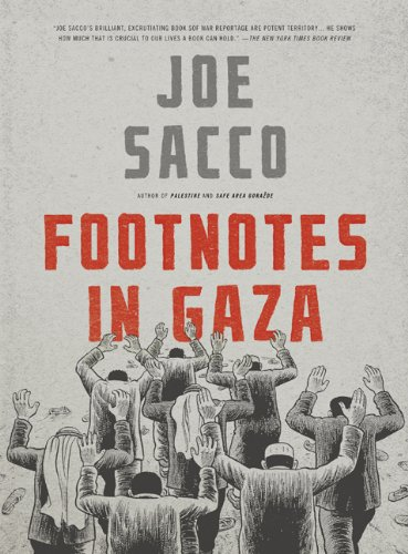 Footnotes in Gaza   2010 edition cover