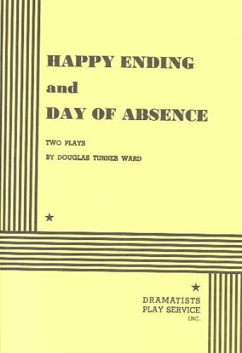 Happy Ending, and Day of Absence  N/A edition cover