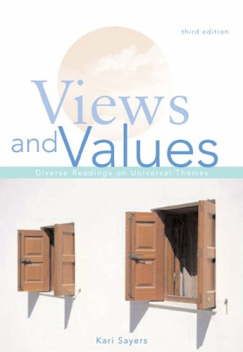 Views and Values Diverse Readings on Universal Themes 3rd 2005 (Revised) edition cover