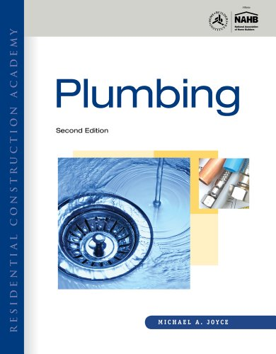 Residential Construction Academy Plumbing 2nd 2012 edition cover