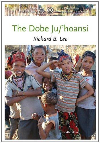 Dobe Ju/'Hoansi  4th 2013 edition cover