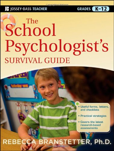 School Psychologist's Survival Guide   2012 edition cover