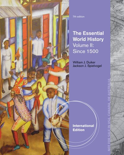 Essential World History, since 1500  7th 2014 edition cover