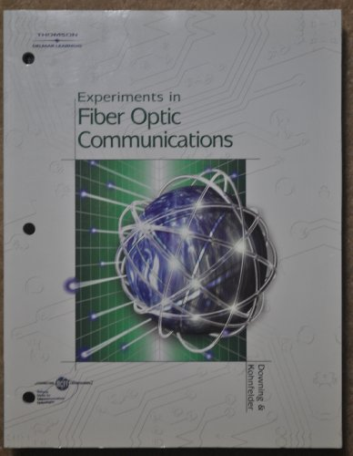 Fiber Optic Communications   2005 (Lab Manual) 9781401828776 Front Cover