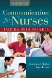 Communications for Nurses Talking with Patients 3rd 2014 edition cover