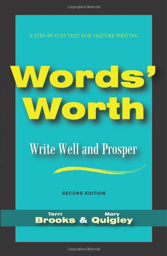 Words' Worth Write Well and Prosper 2nd 2010 edition cover