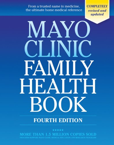 Mayo Clinic Family Health Book  4th 2009 edition cover