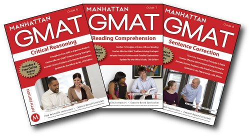 Manhattan GMAT Verbal Strategy Guide Set  5th (Revised) 9781935707776 Front Cover