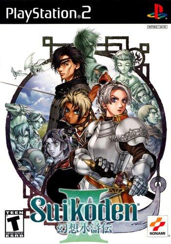 Suikoden 3 PlayStation2 artwork