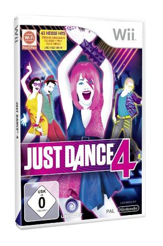 Just Dance 4 Nintendo Wii artwork