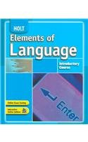Holt Elements of Language Student Edition Grade 6 2007  2006 9780030796777 Front Cover