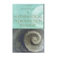 Mathematical Introduction to Logic  3rd 2013 edition cover
