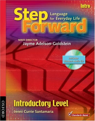 Step Forward Intro with CD and Workbook Pack   2008 9780194399777 Front Cover