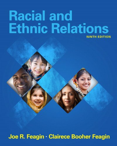 Racial and Ethnic Relations  9th 2011 edition cover