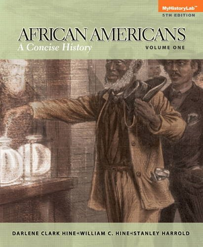 African Americans A Concise History, Volume 1 5th 2014 edition cover
