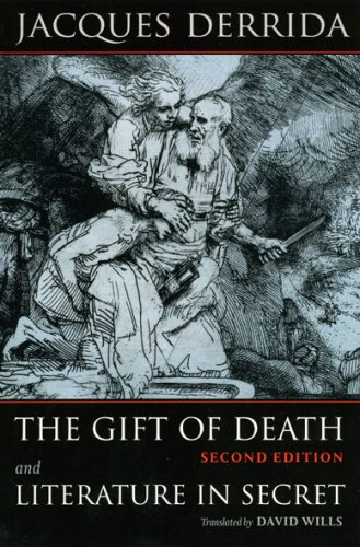 Gift of Death and Literature in Secret  2nd 2008 9780226142777 Front Cover