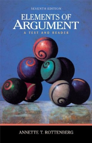 Elements of Argument : A Text and Reader 7th 2003 edition cover