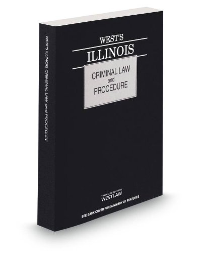 WEST'S ILLINOIS CRIMINAL LAW+P N/A 9780314661777 Front Cover