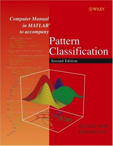 Computer Manual in MATLAB to Accompany Pattern Classification  2nd 2004 (Revised) edition cover