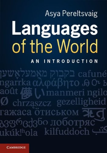 Languages of the World An Introduction  2012 edition cover