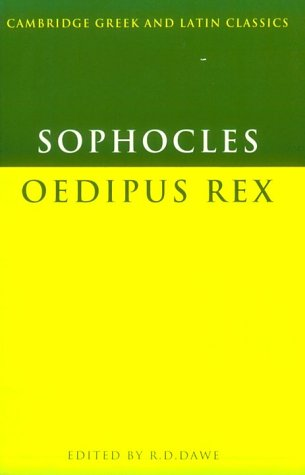 Sophocles Oedipus Rex N/A 9780521287777 Front Cover