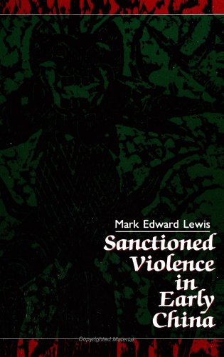 Sanctioned Violence in Early China   1990 edition cover
