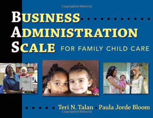 Business Administration Scale for Family Child Care  N/A edition cover