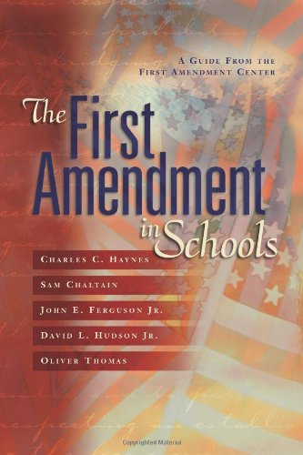 First Amendment in Schools   2003 9780871207777 Front Cover