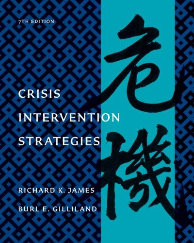 Crisis Intervention Strategies  7th 2013 edition cover